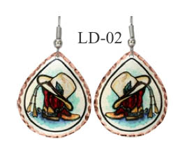 LYNN BEAN EARRINGS LD-02.