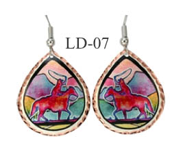 LYNN BEAN EARRINGS LD-07.