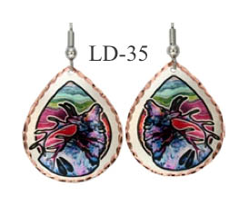 LYNN BEAN EARRINGS LD-35.