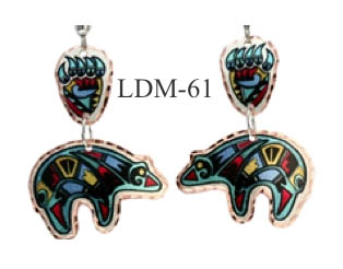 LYNN BEAN EARRINGS LDM-61.