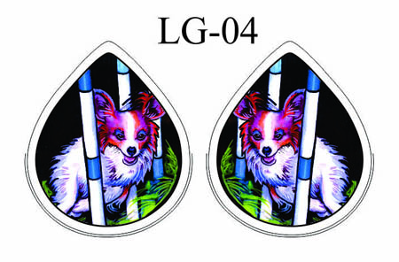LYNN BEAN EARRINGS LG-04.