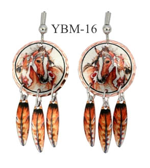 LYNN BEAN EARRINGS YBM-16.
